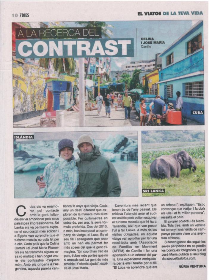 Jose Piasentini revista 7 dies Andorra