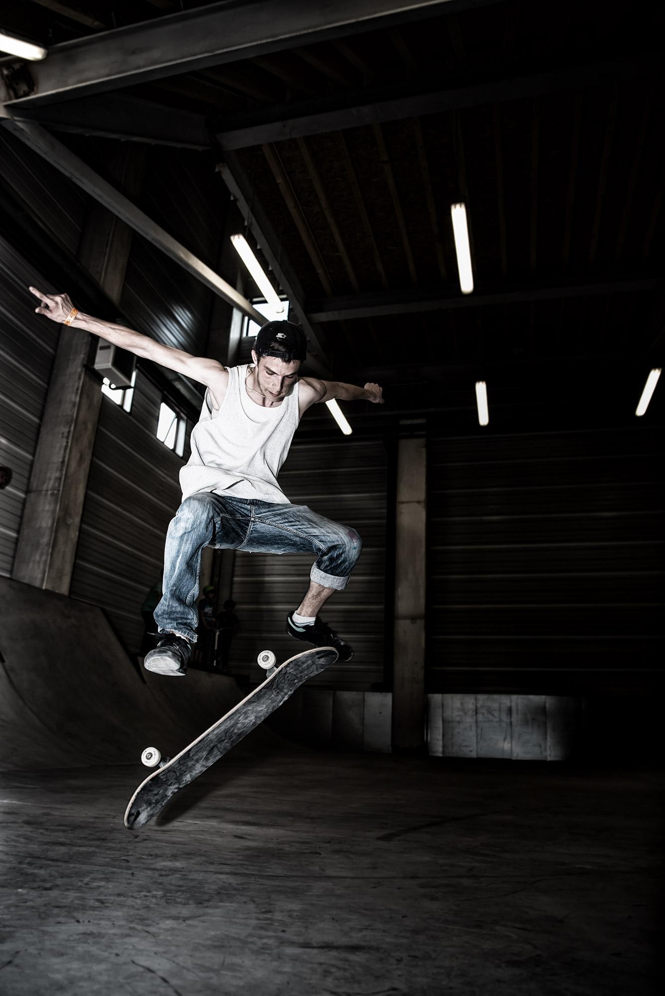 Skater en 360eXtrem