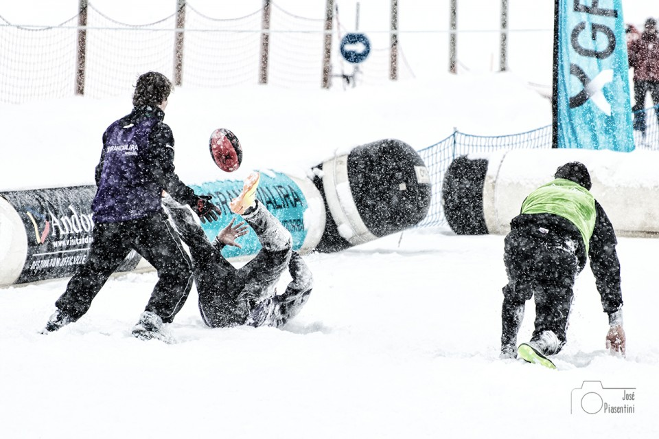 Snowrugby en Grandvalira