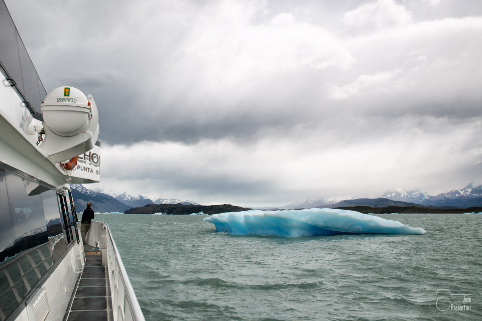 Navegacion por Lago Argentino