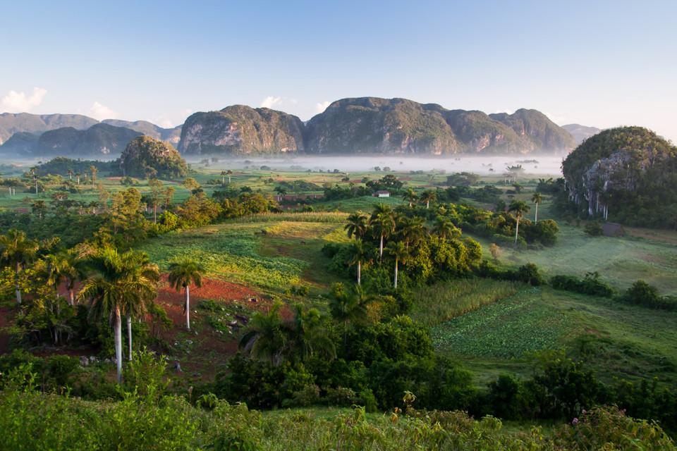 El valle de Viñales, Cuba