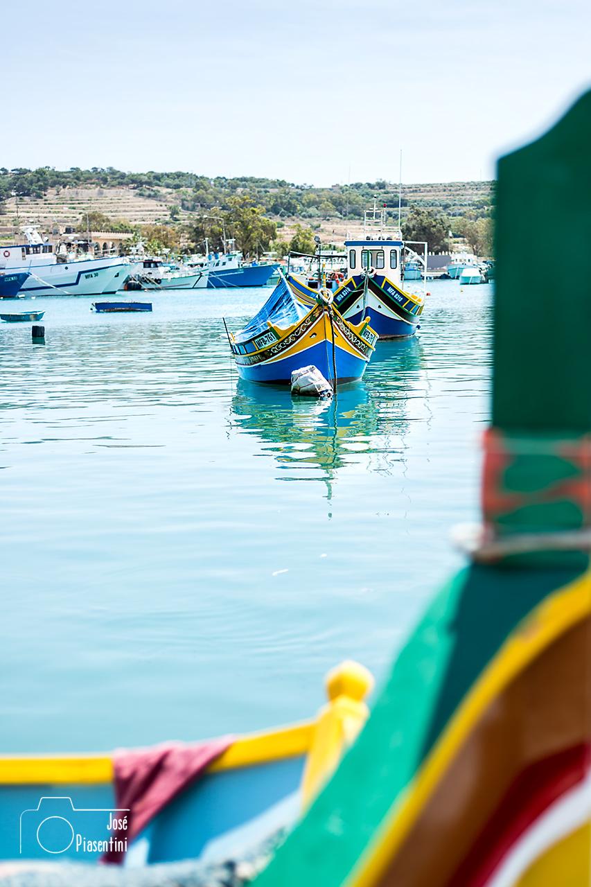 Luzzus-Marsaxlokk-Malta