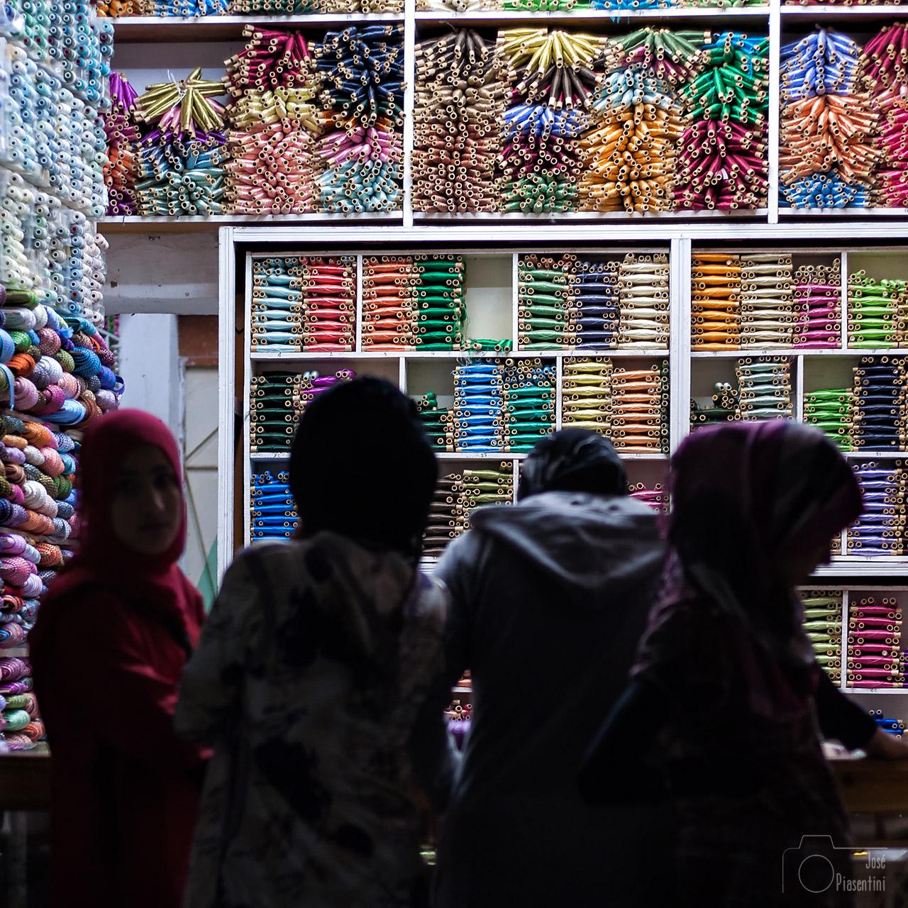 El Mercado de Rissani al sur de Marruecos