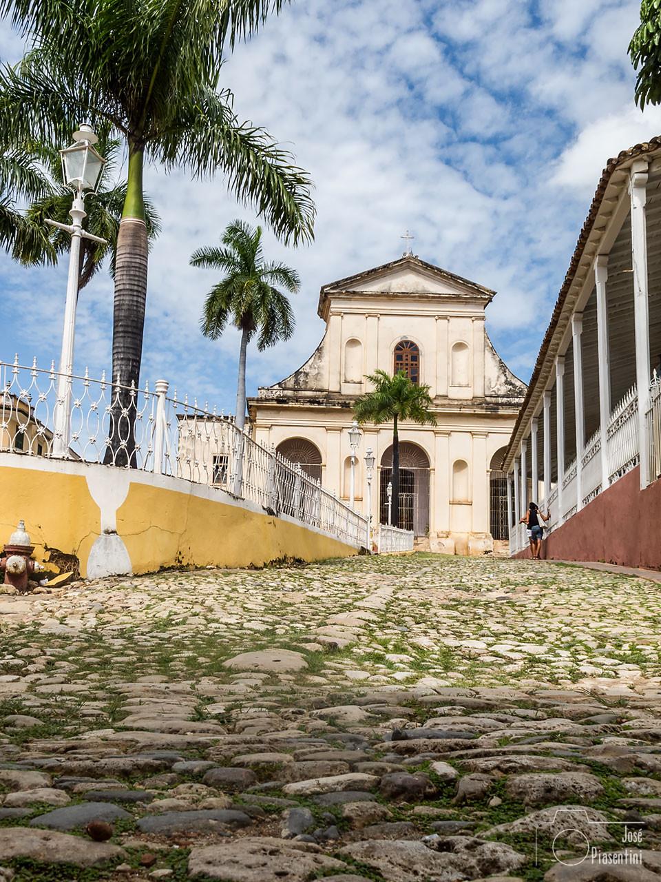 Casco antiguo de Trinidad Cuba - Family trip