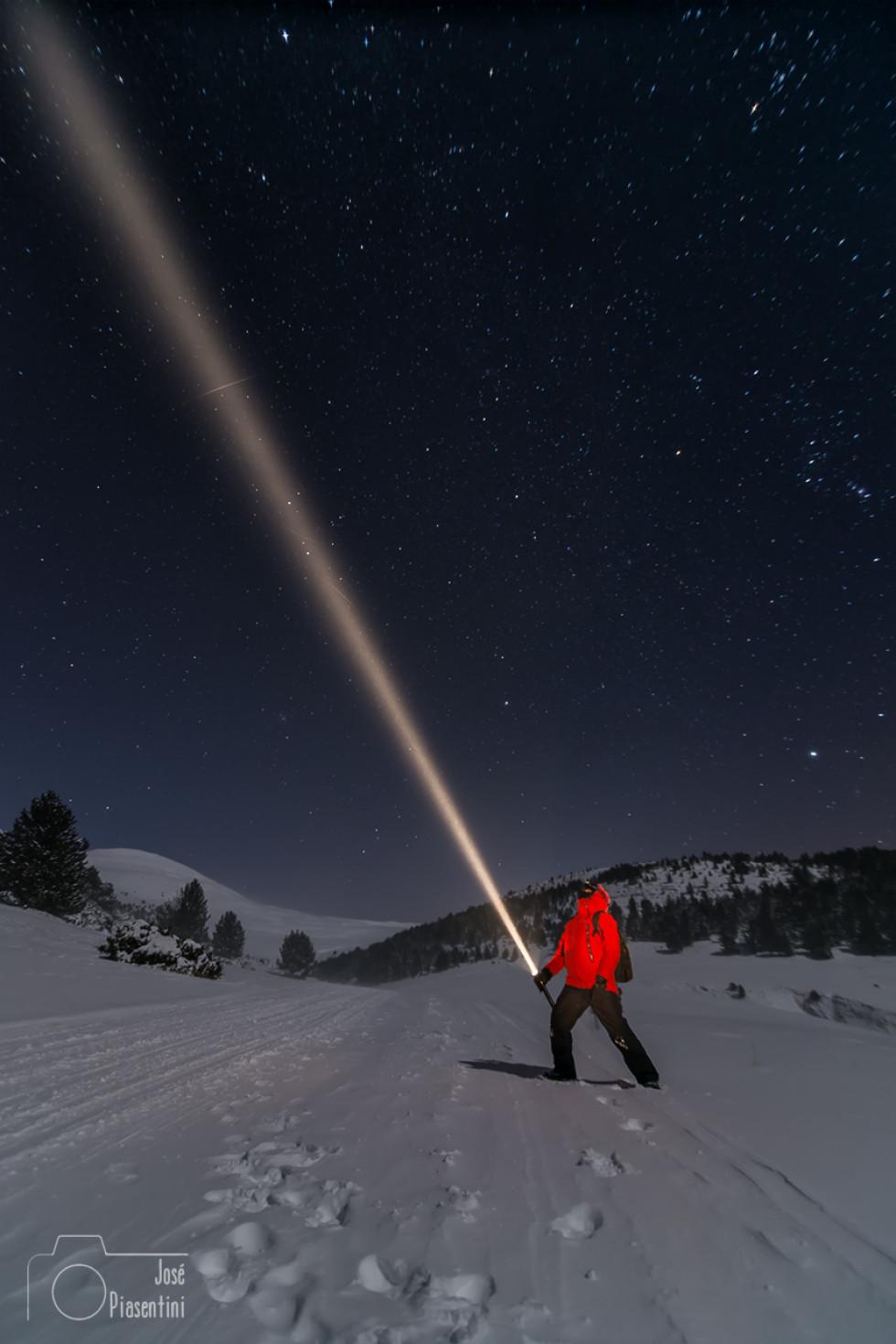 Andorra, fotos nocturnas en condiciones extremas