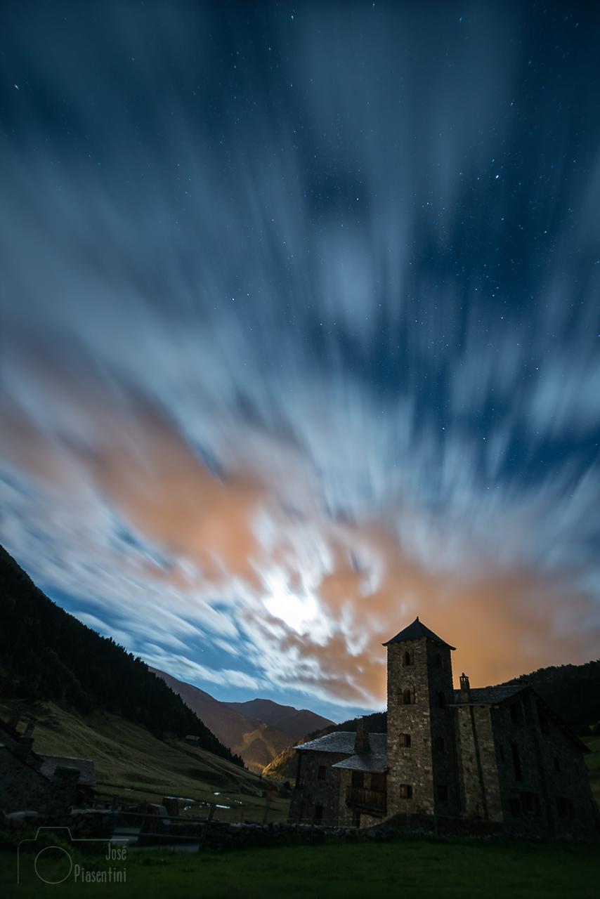 Long-explosure-Vall d Incles Canillo Andorra