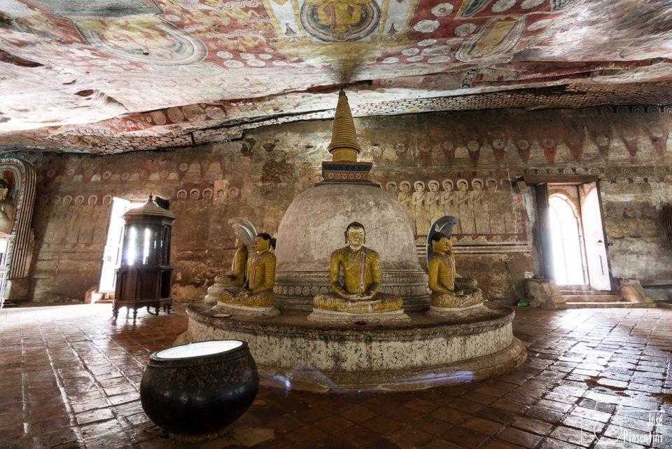 Que hacer en Sri Lanka - Dambulla Cave Temple