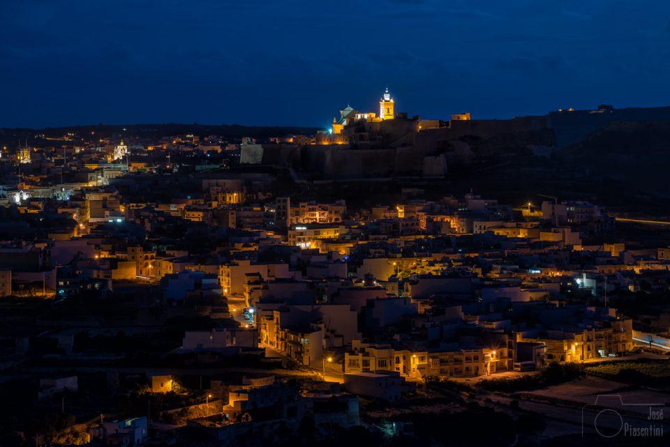 Victoria (Rabat), la capital de Gozo