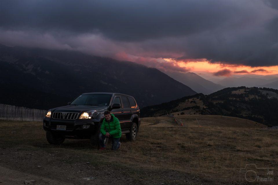 Andorra y sus montañas teñidas de ocre en otoño - Excursion 4x4