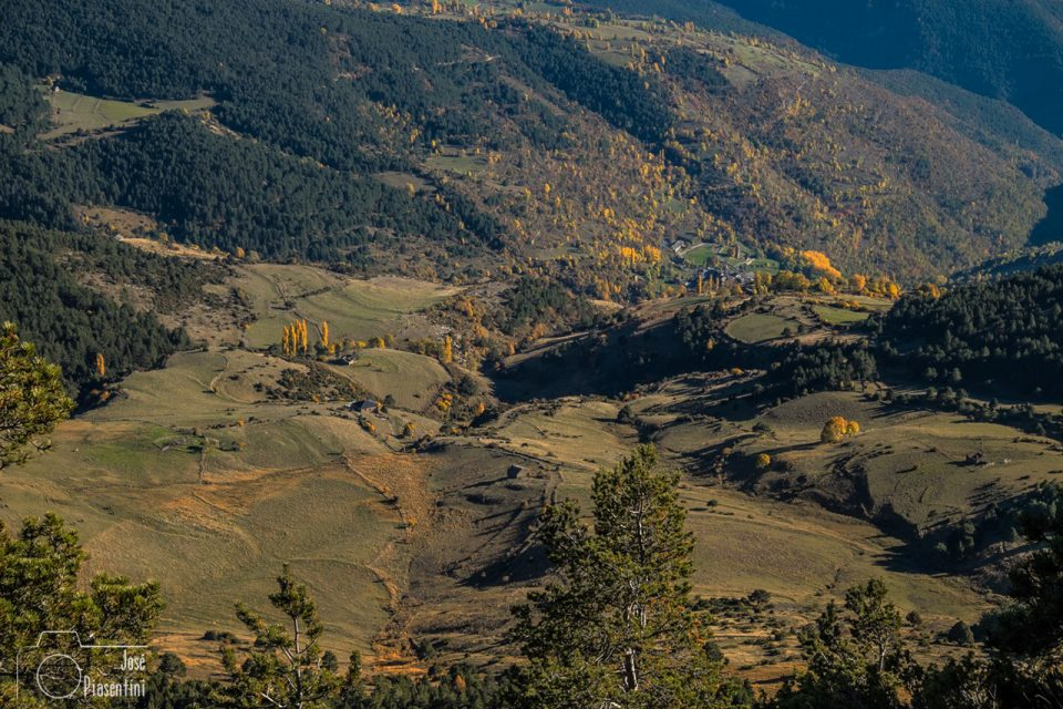 Que ver en Otoño en Andorra- Vista desde-La-Rabassa