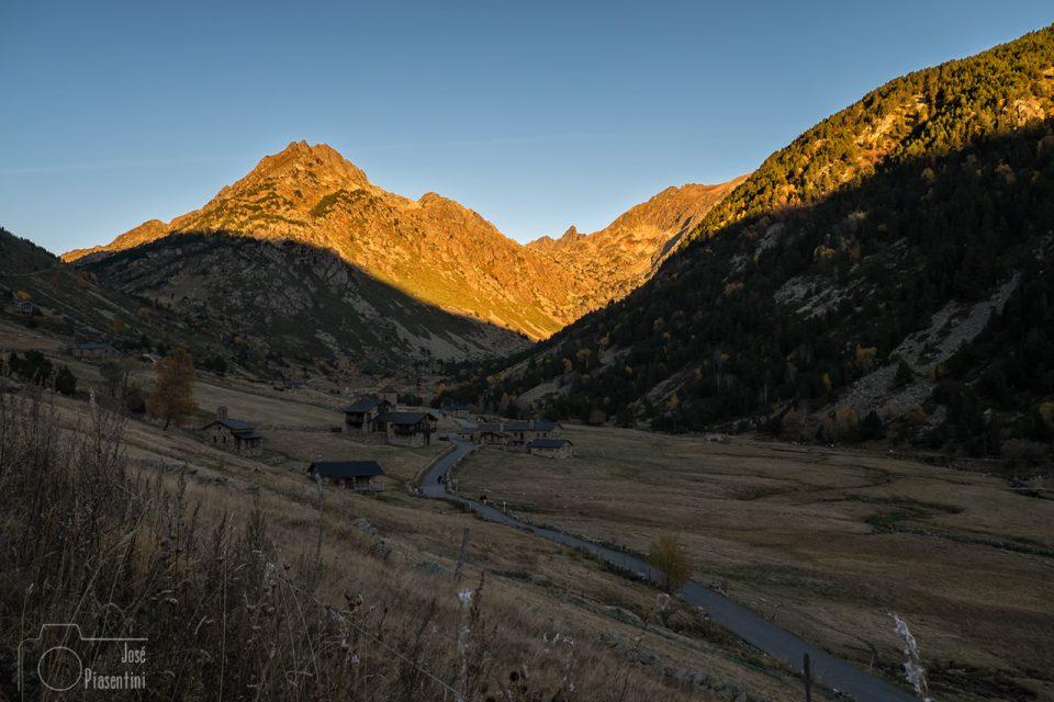 Otoño en Andorra - vall d'Incles