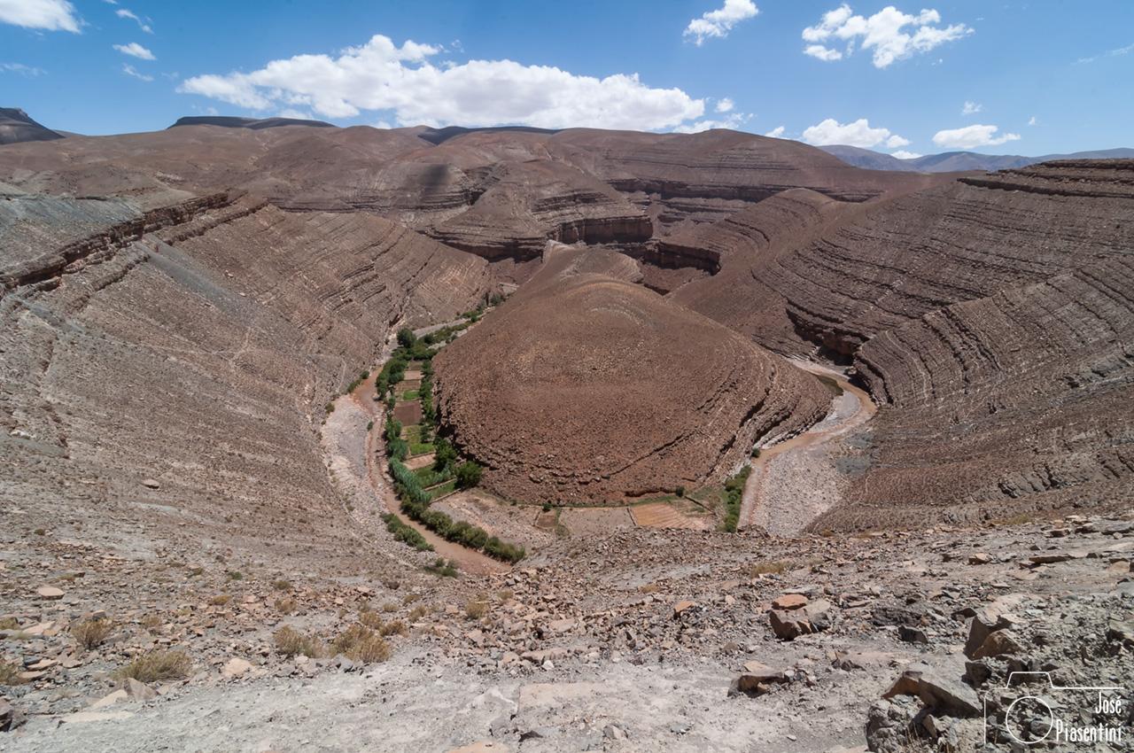 Descubriendo el Atlas Marroqui por la pista que une las Gargantas de Todra y el Vall del Dades