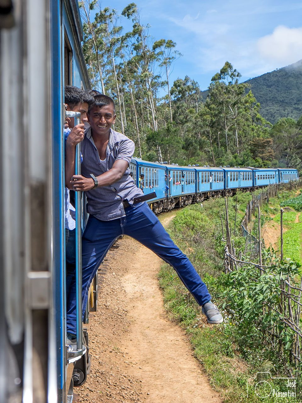 Sri Lanka - Tren de Nuwara Eliya a Ella