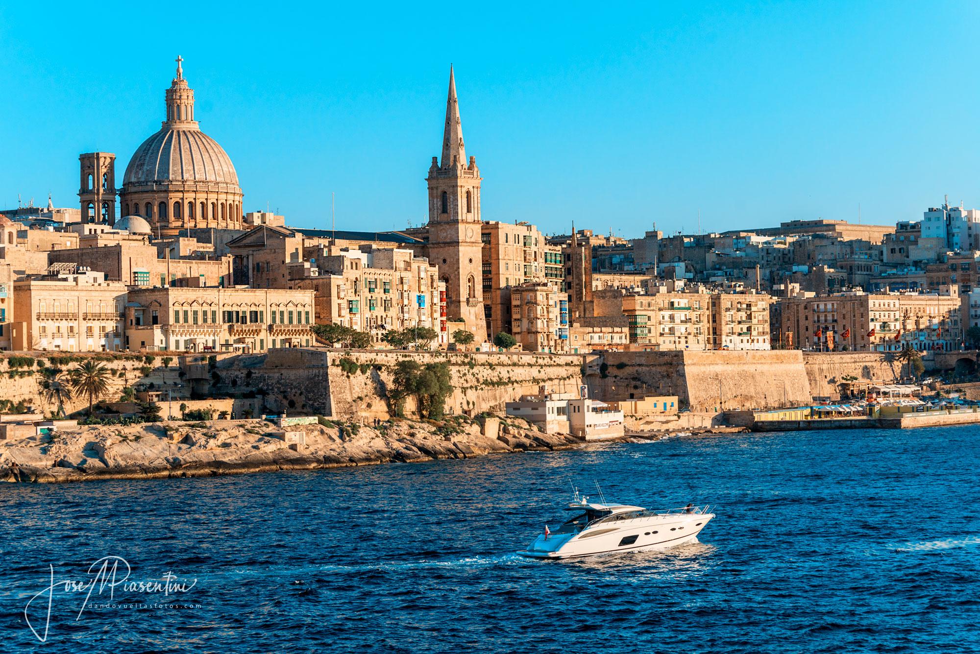 Valletta, un paseo en imagenes por la capital de Malta