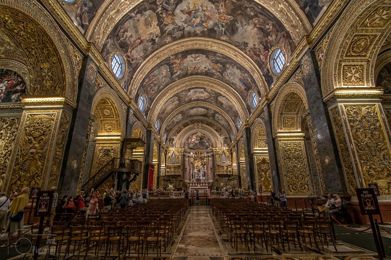 La Catedral de San Juan en La Valeta – St John's Co-Cathedral