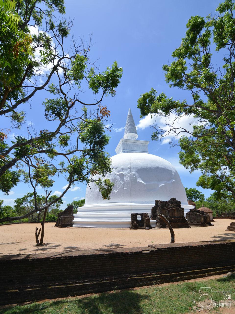 Polonnaruwa antigua capital de Sri Lanka