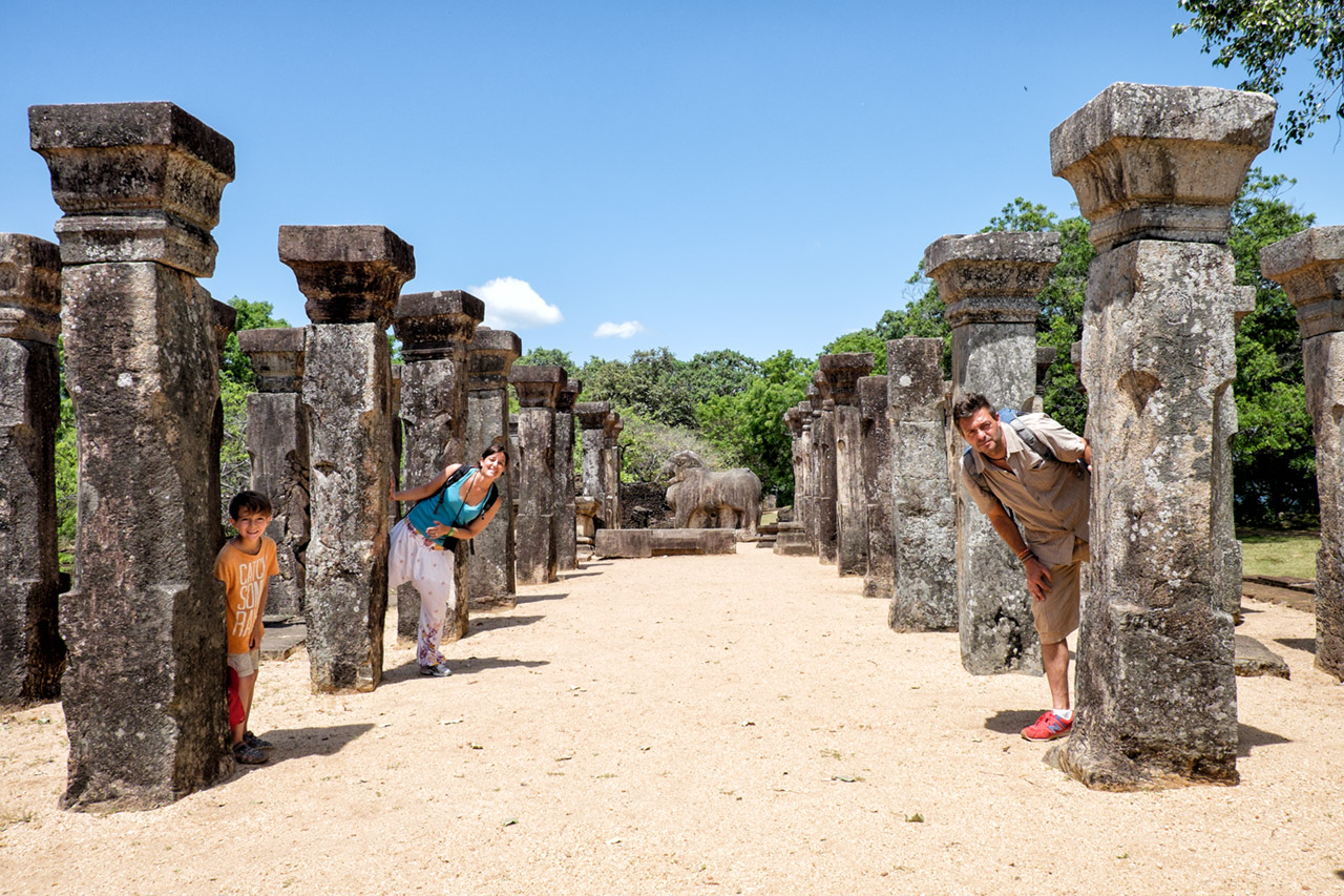 Things to do in Sri Lanka with children - Polonnaruwa