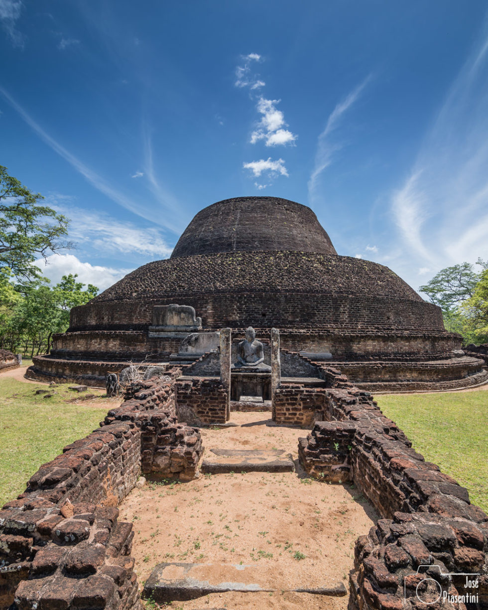 Polonnaruwa, antigua capital de Sri Lanka