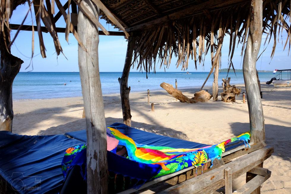 Relaxing Uppuveli beach