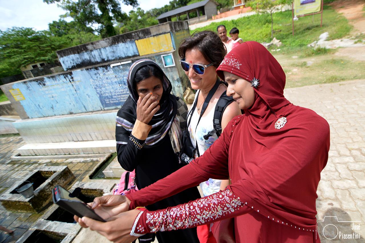 Trincomalee Hot Springs of Kanniya sefie