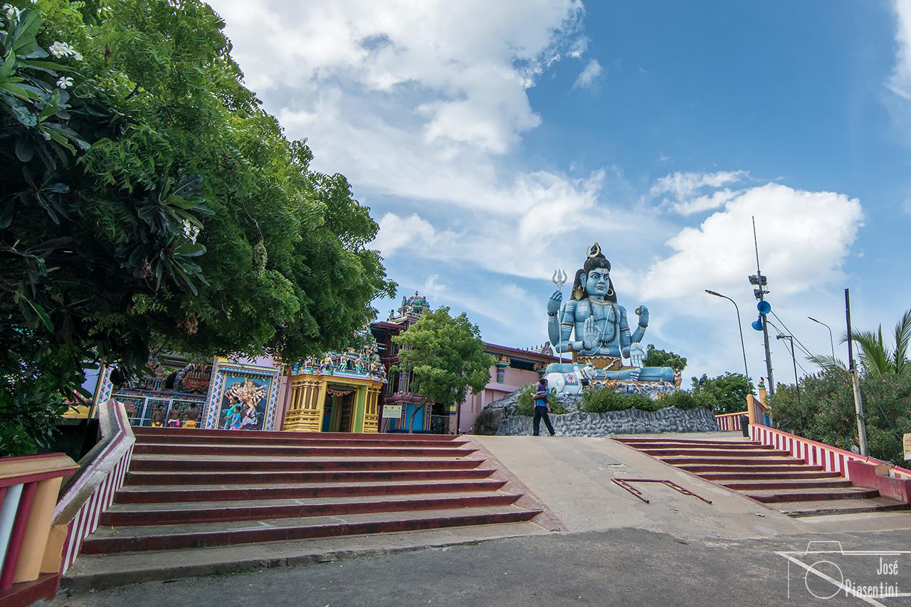 El templo de Koneswaram en Trincomalee