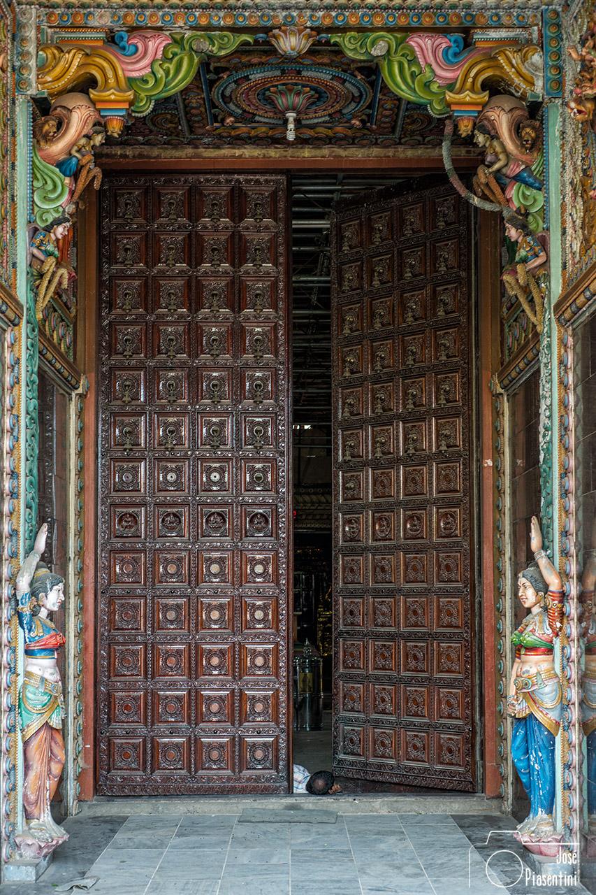 Door of Kali Kovil-Trincomalee