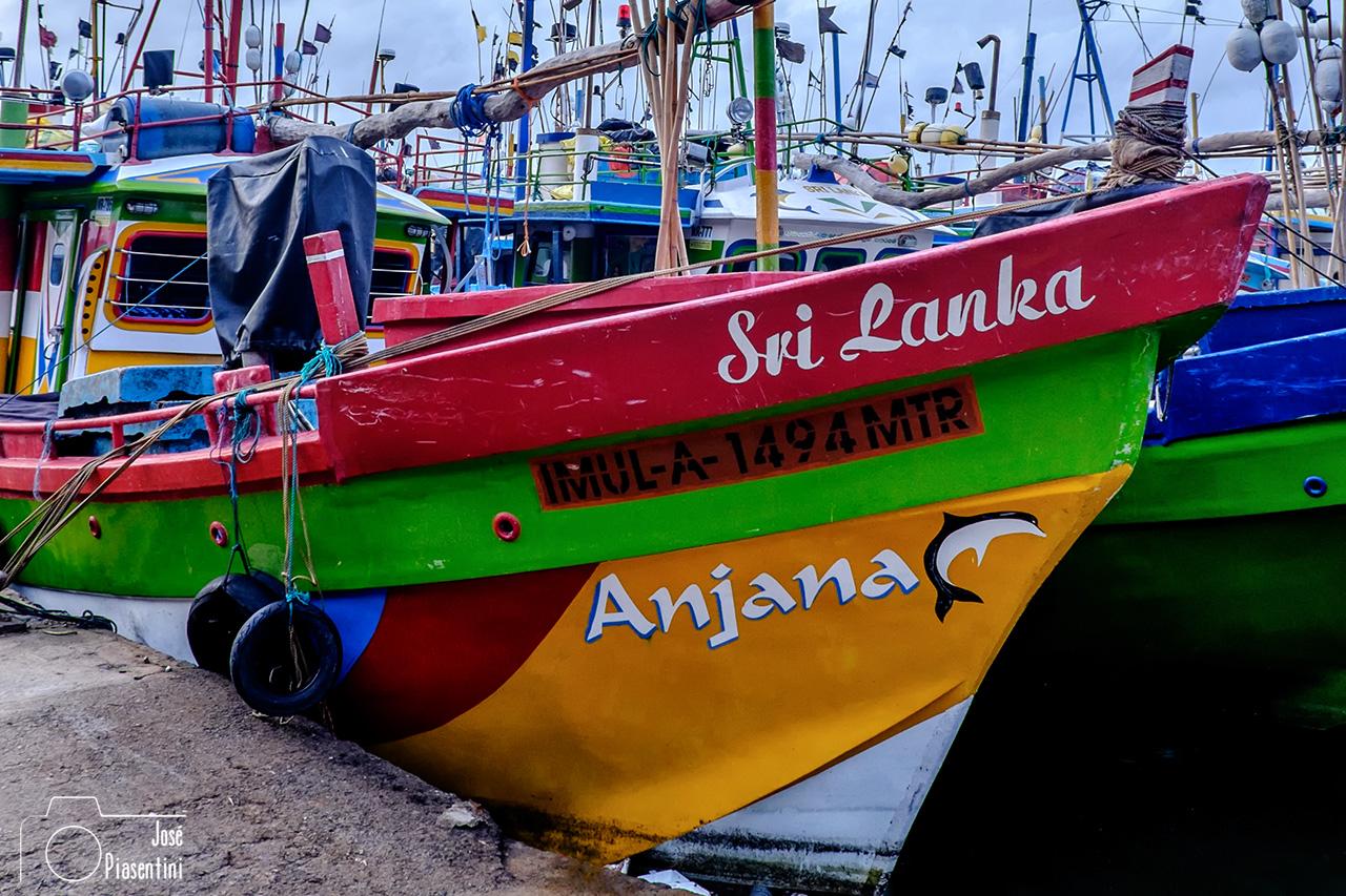 Sri Lanka fish boat