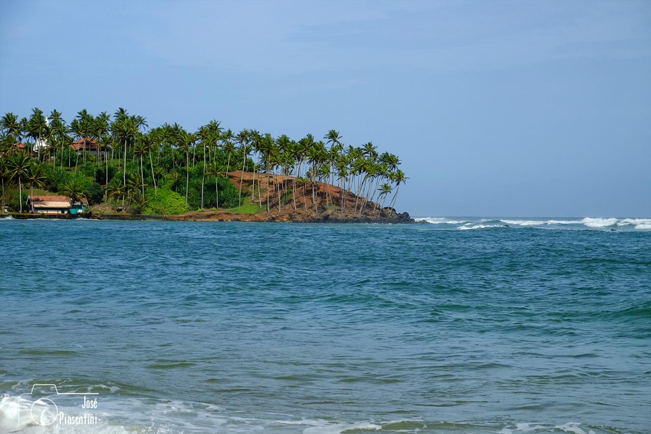 View beach Mirissa