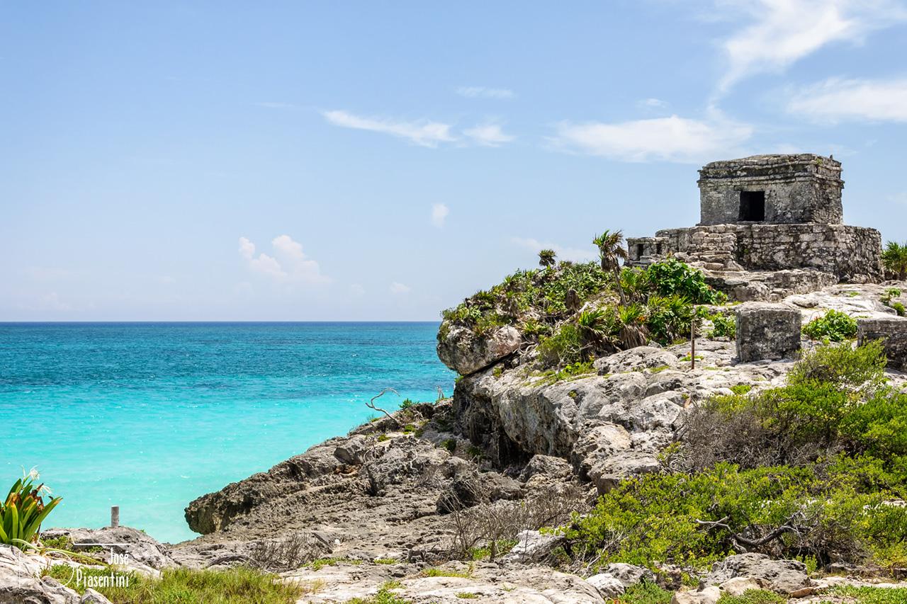 Ruinas Tulum y la playa