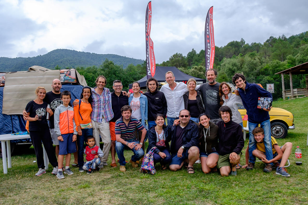 La familia Zapp en la Meeting Camper Off-Road