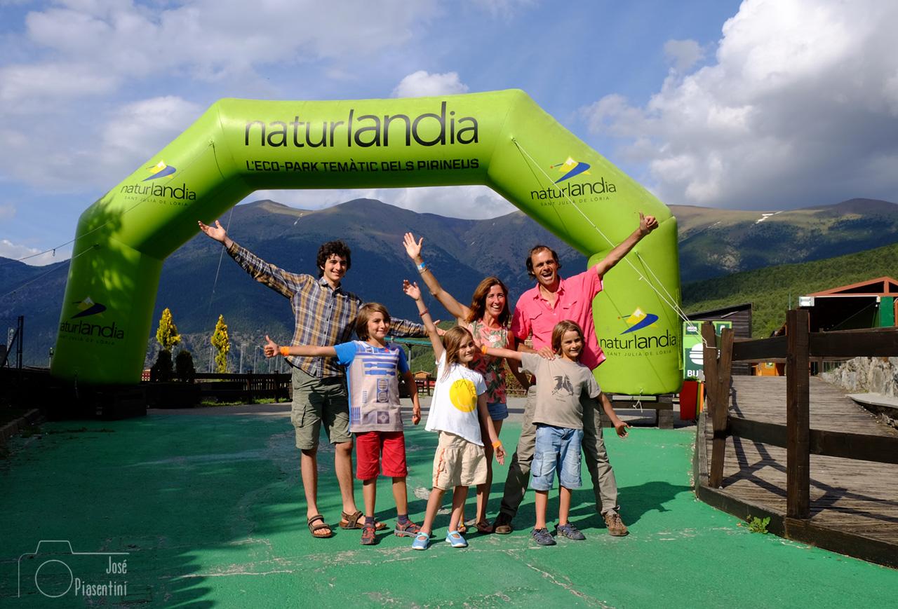 Los Zapp en Naturlandia Andorra