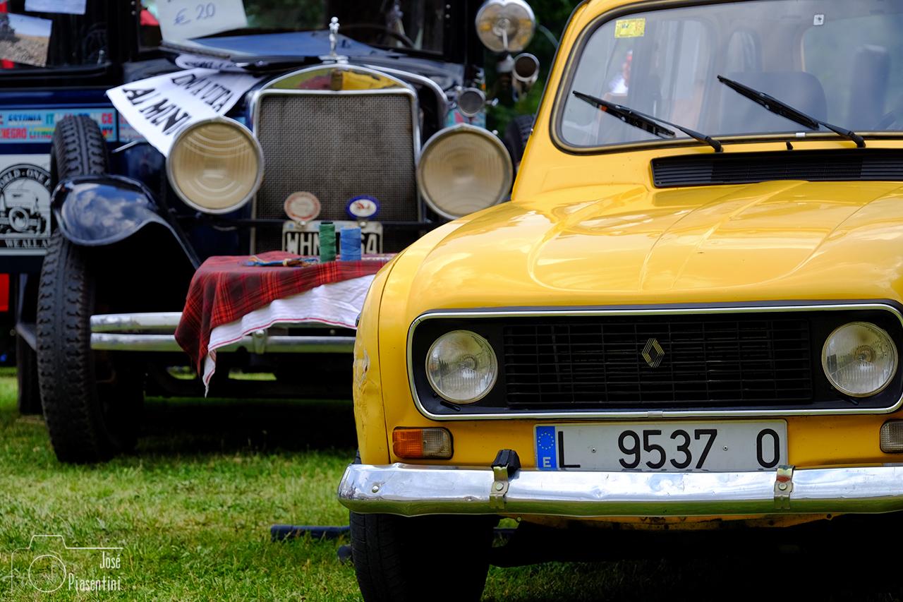 Renault 4l Luli y Coco