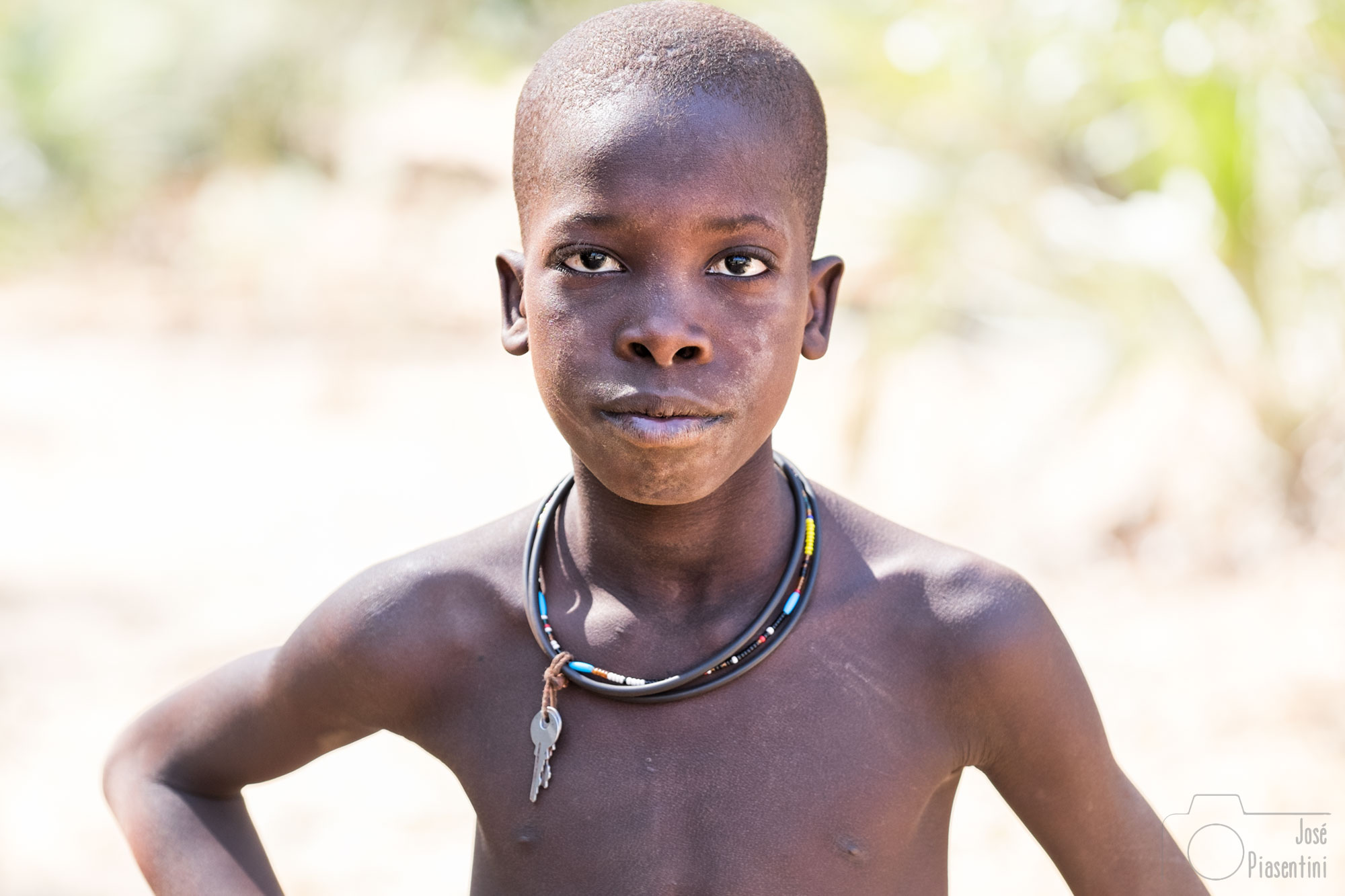 Young Himba portrait