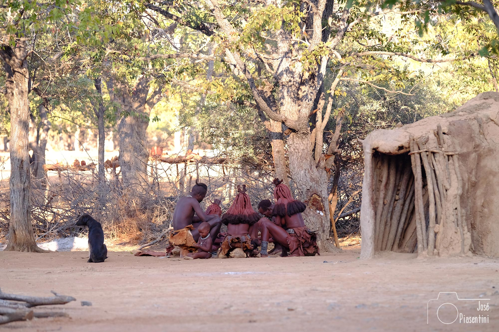 Himba Family meeting