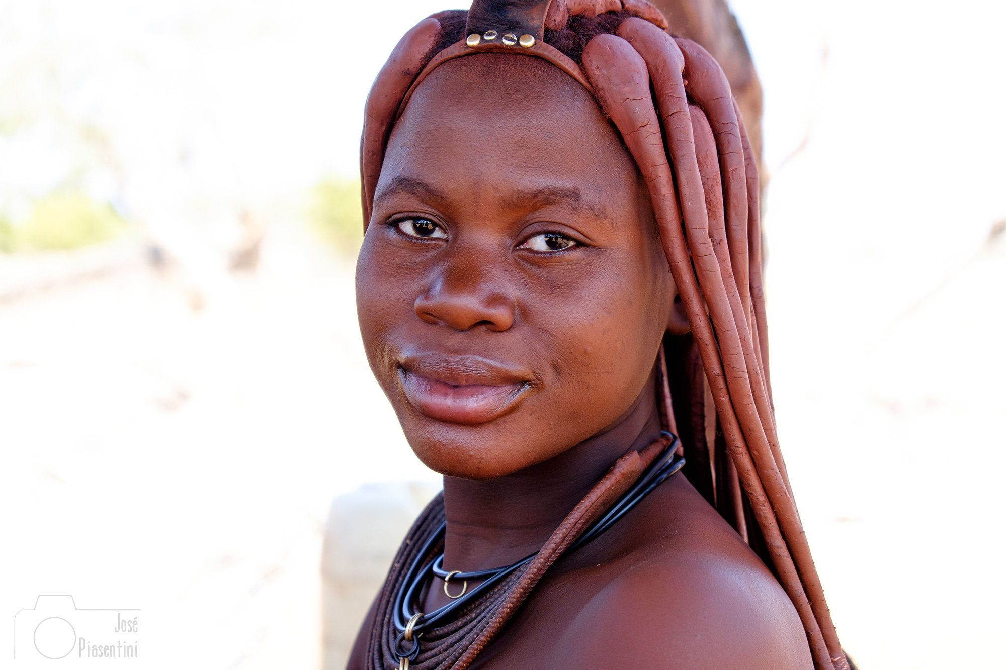 Himba Girl Opuwo Namibia photos