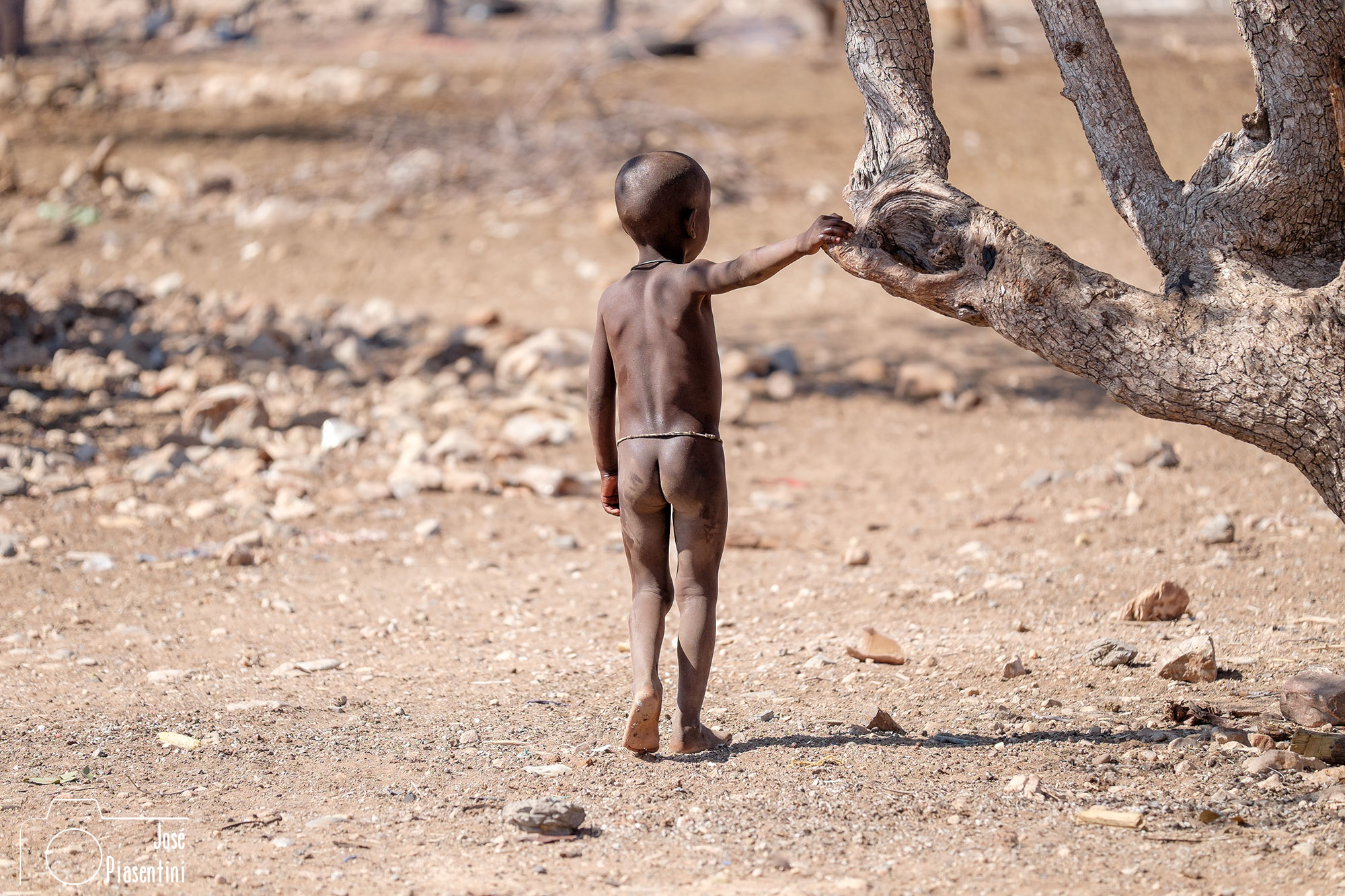 Himba child Namibia