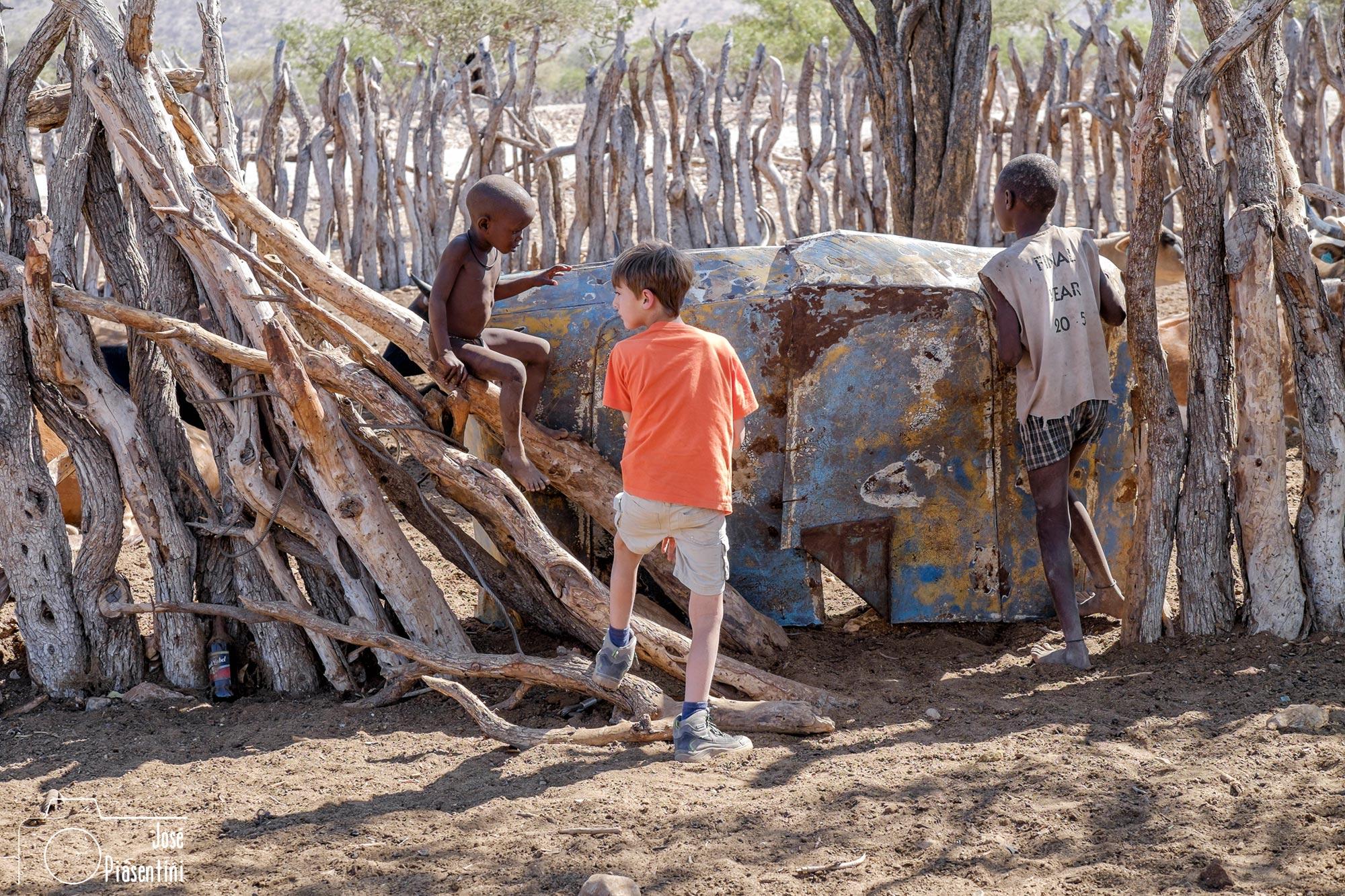 Piasentini y los Himba