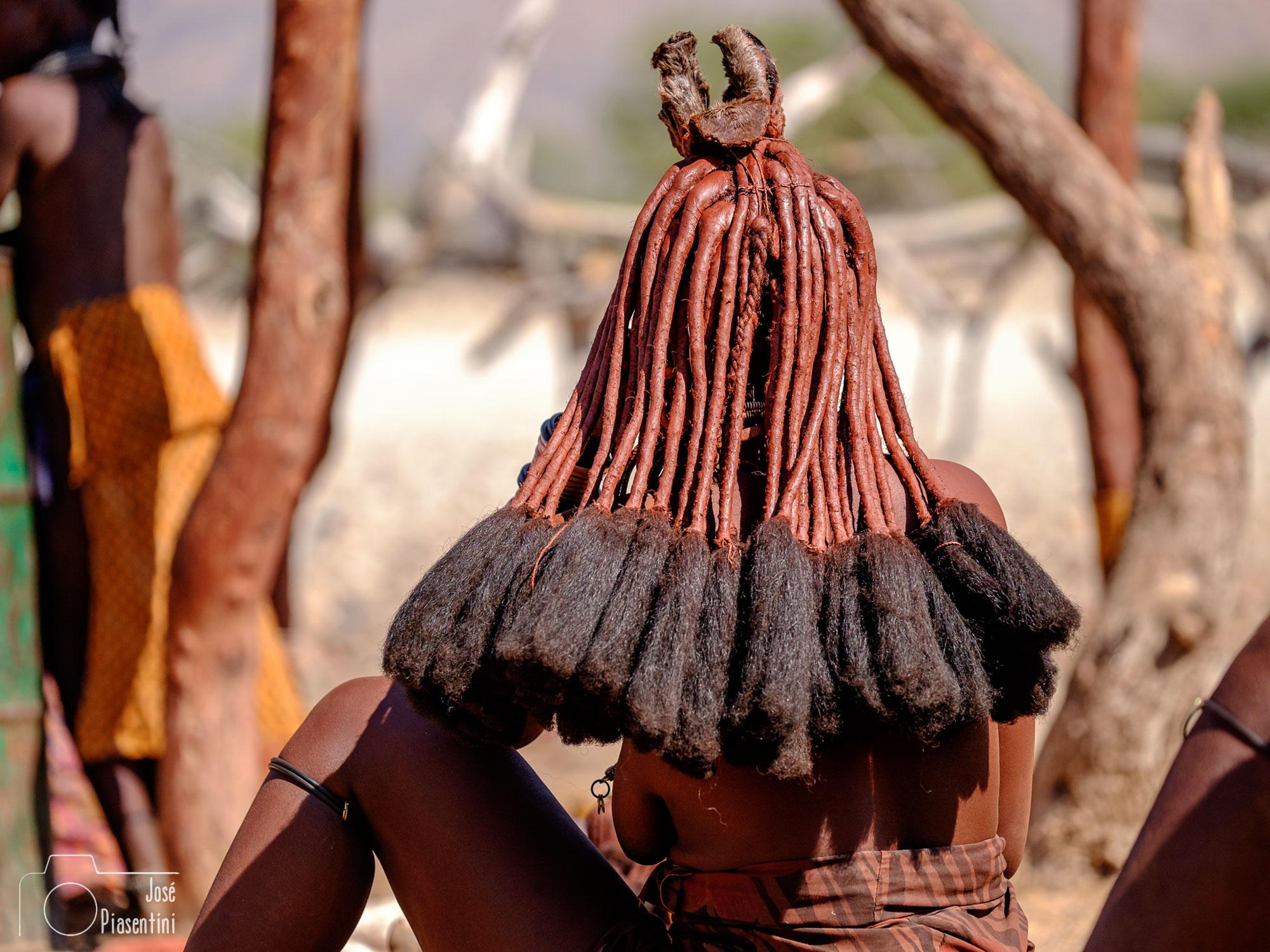hairstyle Himba Namibia