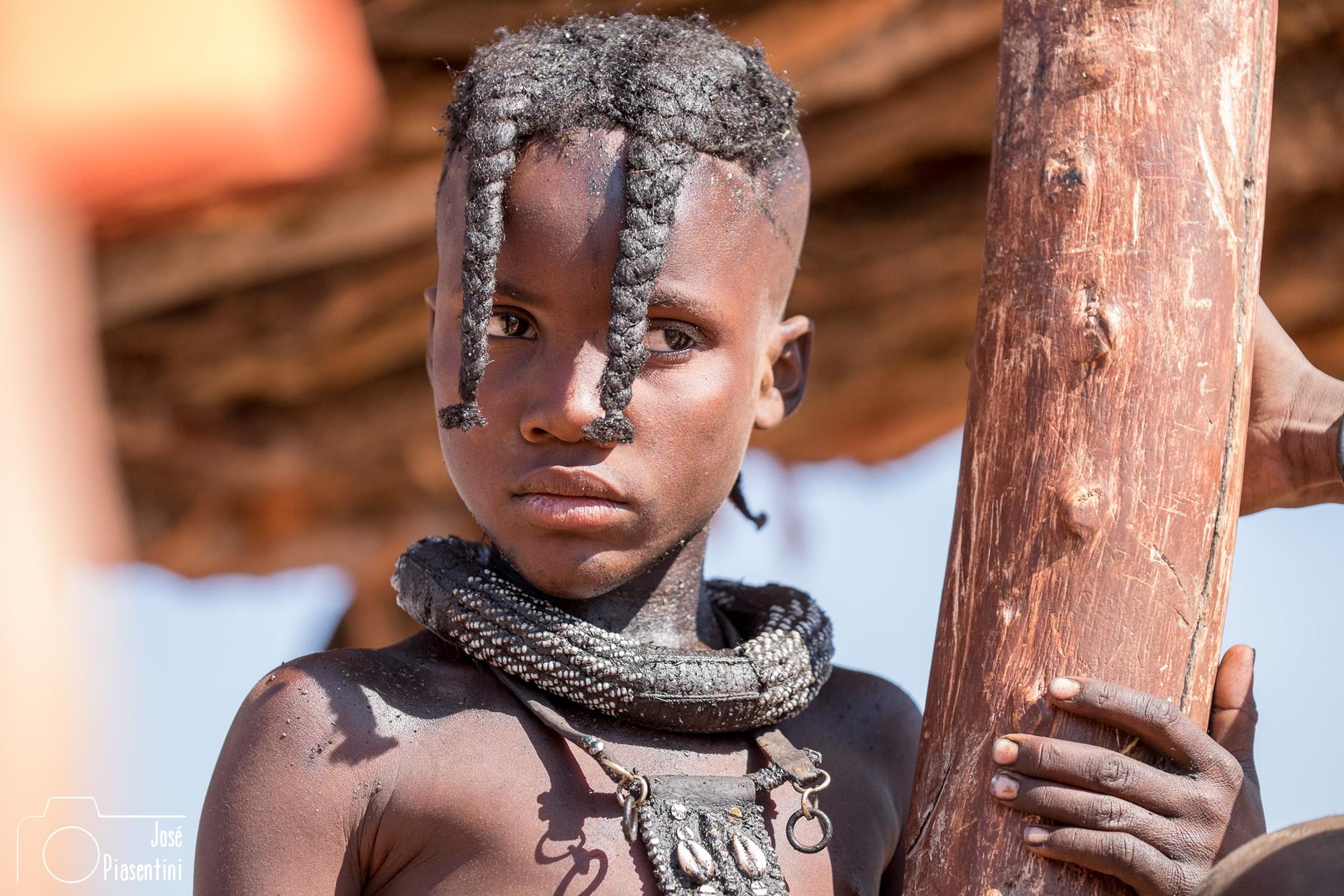 Young Himba Namibia