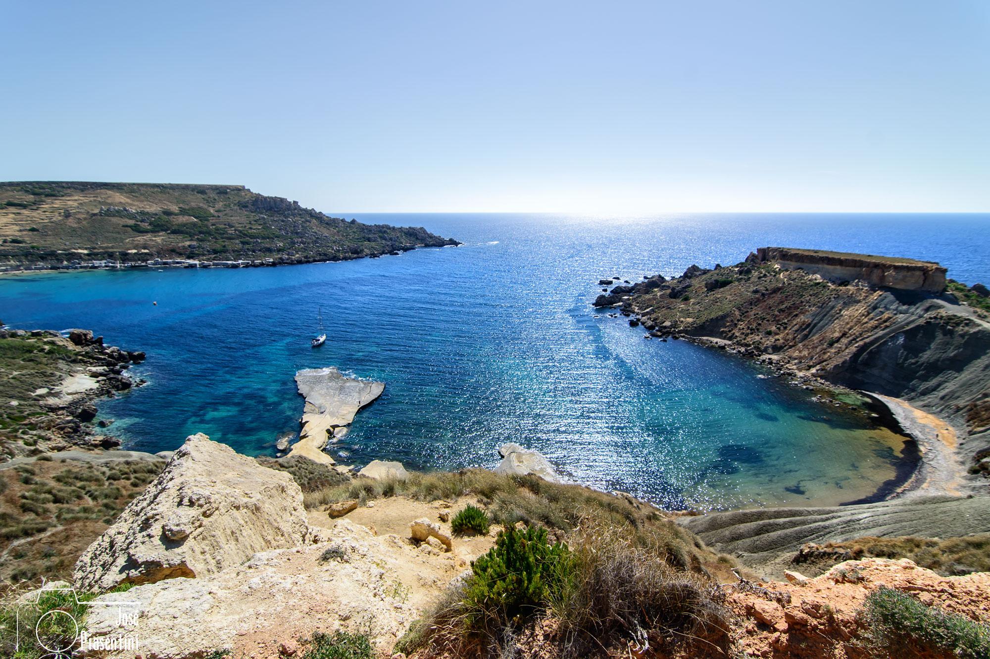 Malta, Golden Bay versus Sliema