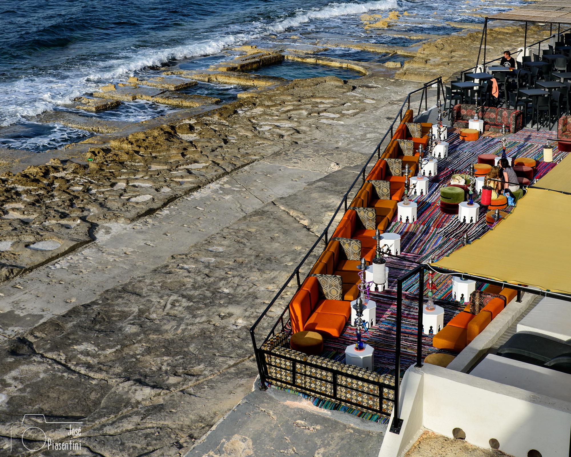 Sliema beach