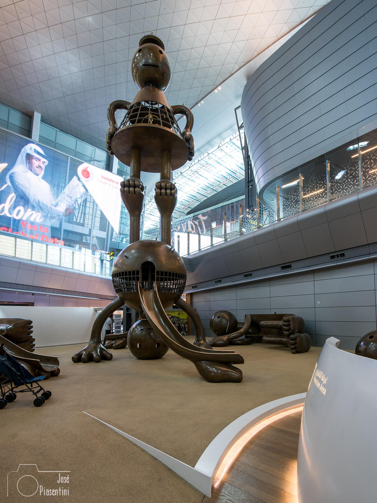 Aeropuerto Internacional de Hamad in Qatar