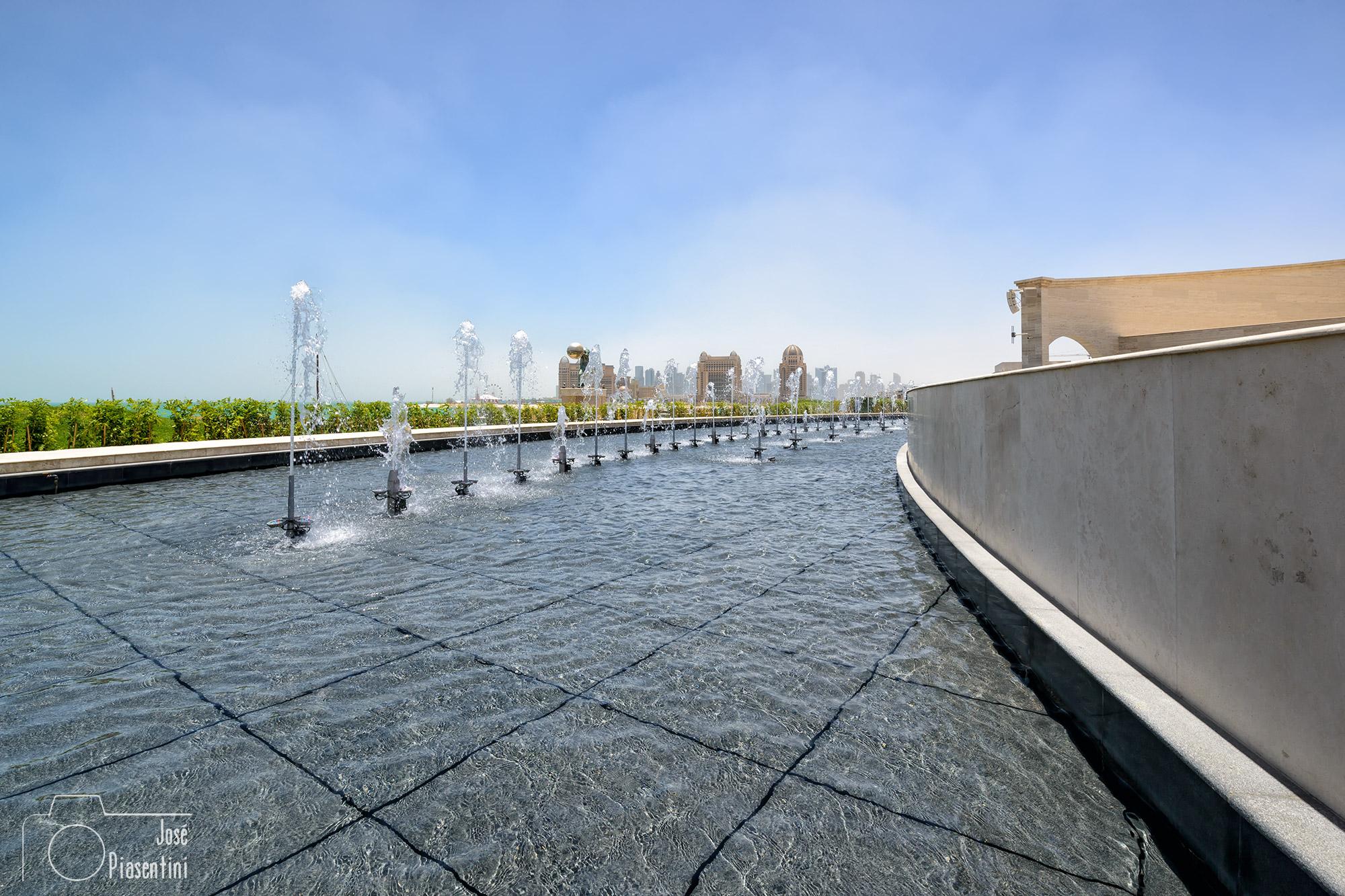 views from Katara Cultural Village