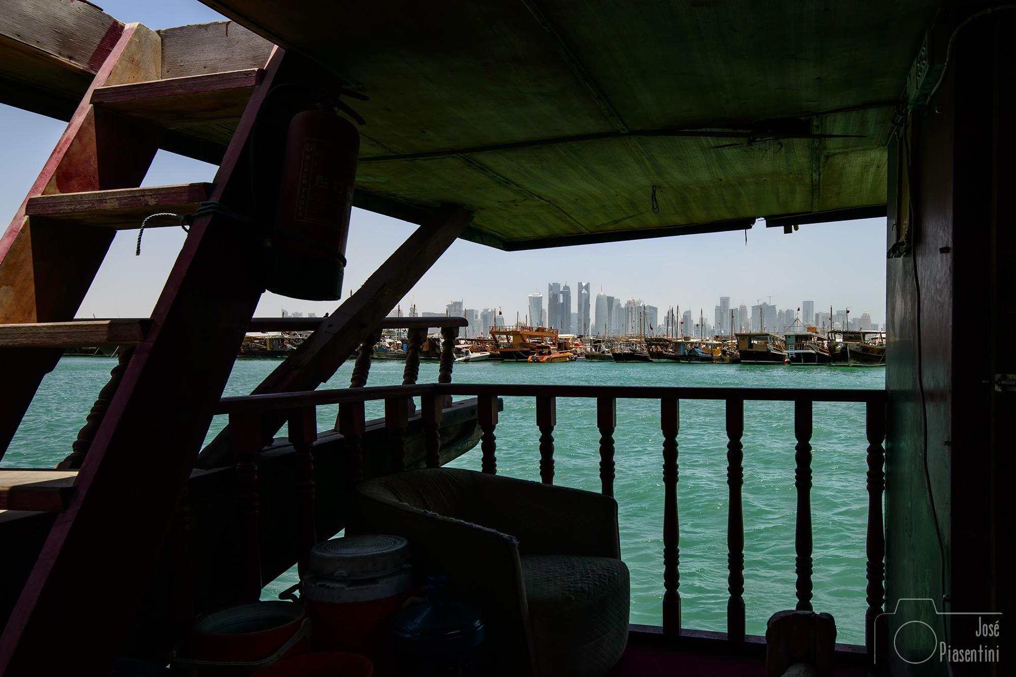Doha finance district view