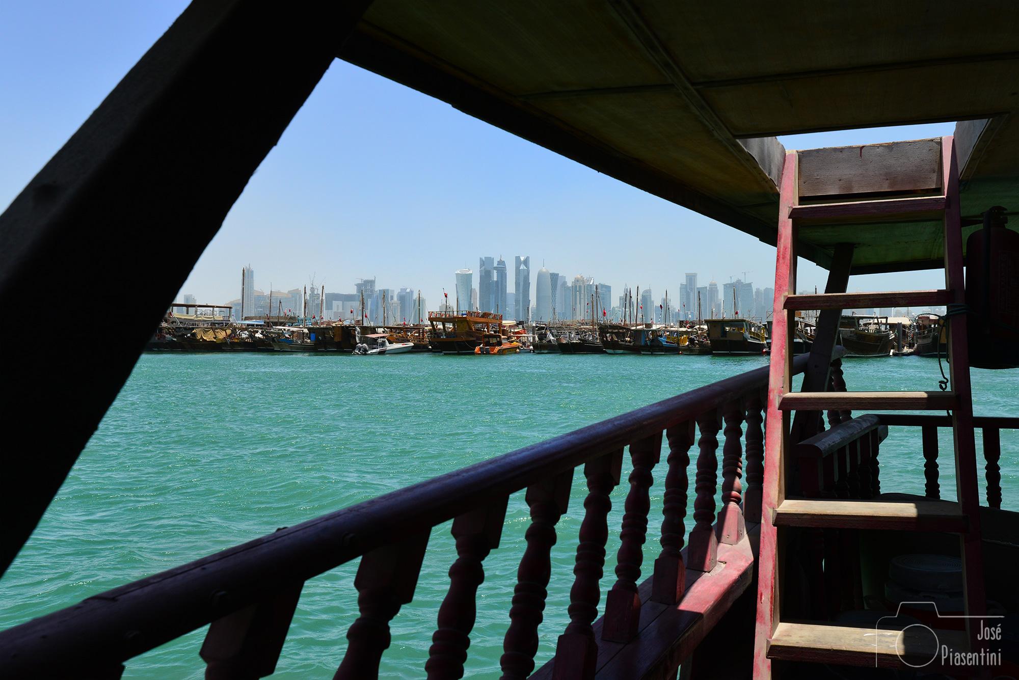 View from Doha Corniche