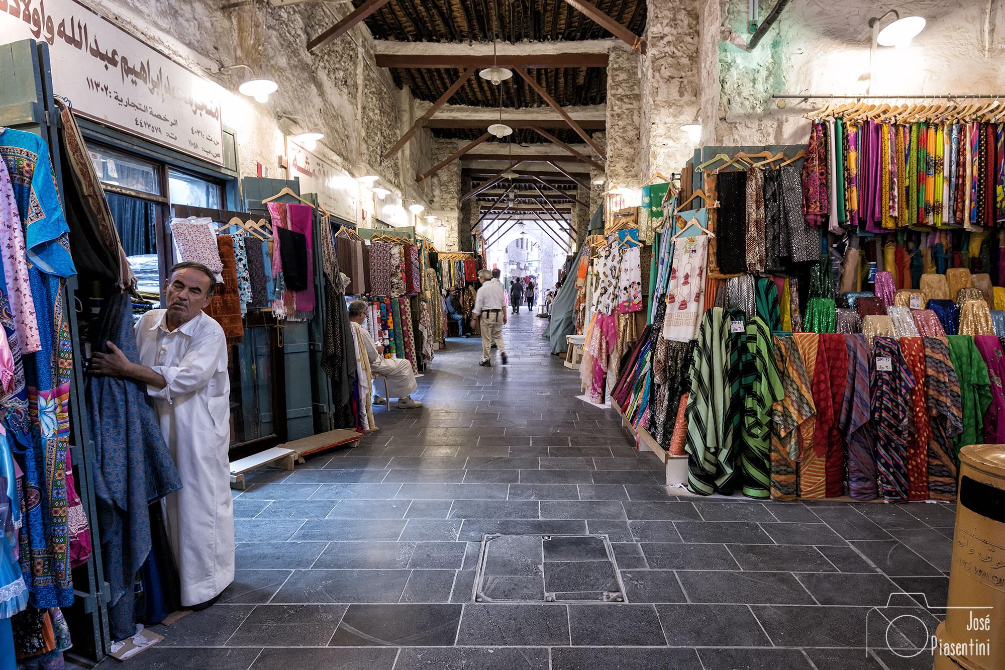 Traditional Qatar people