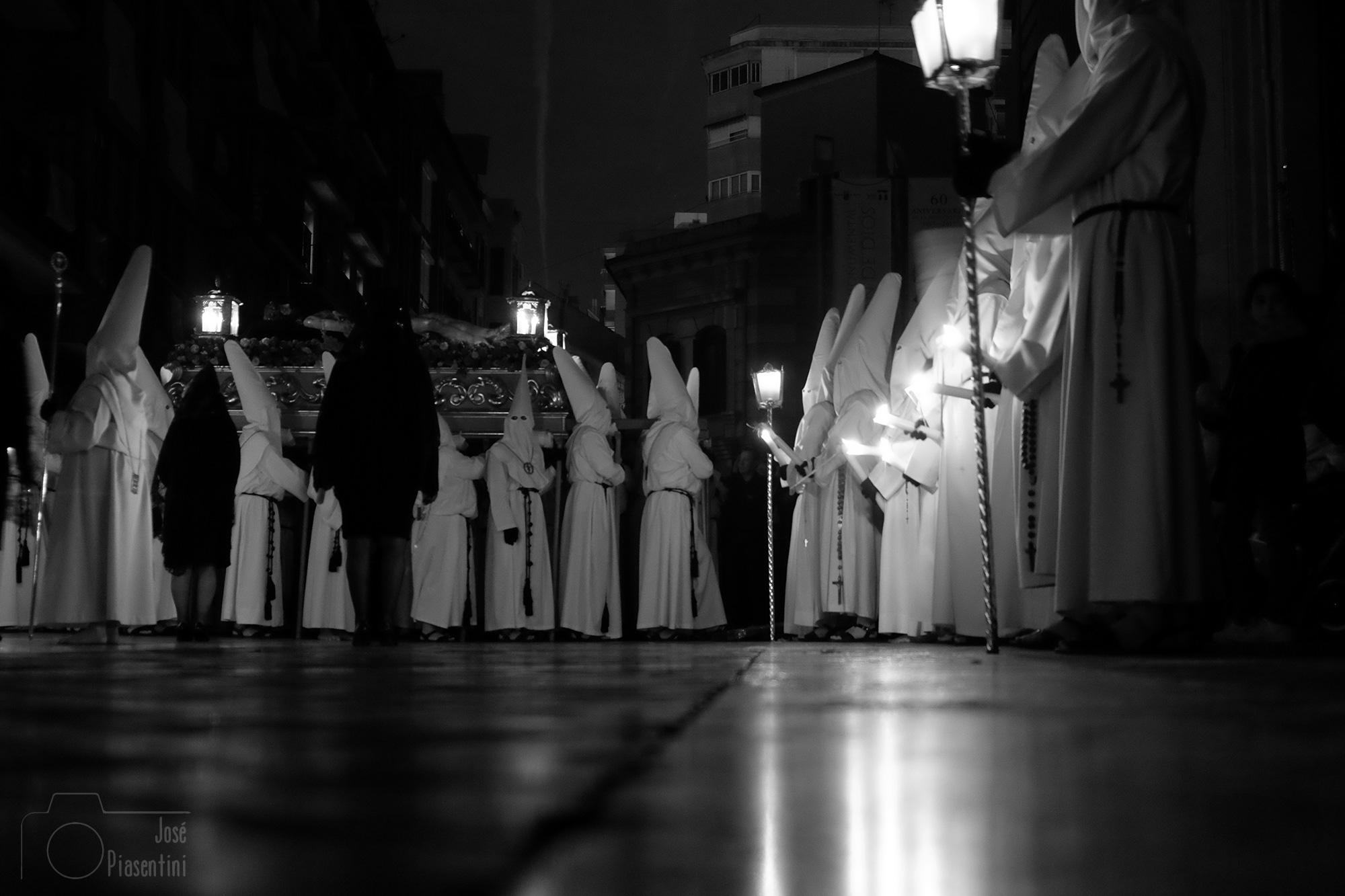 Nazarenos Semana Santa en Murcia