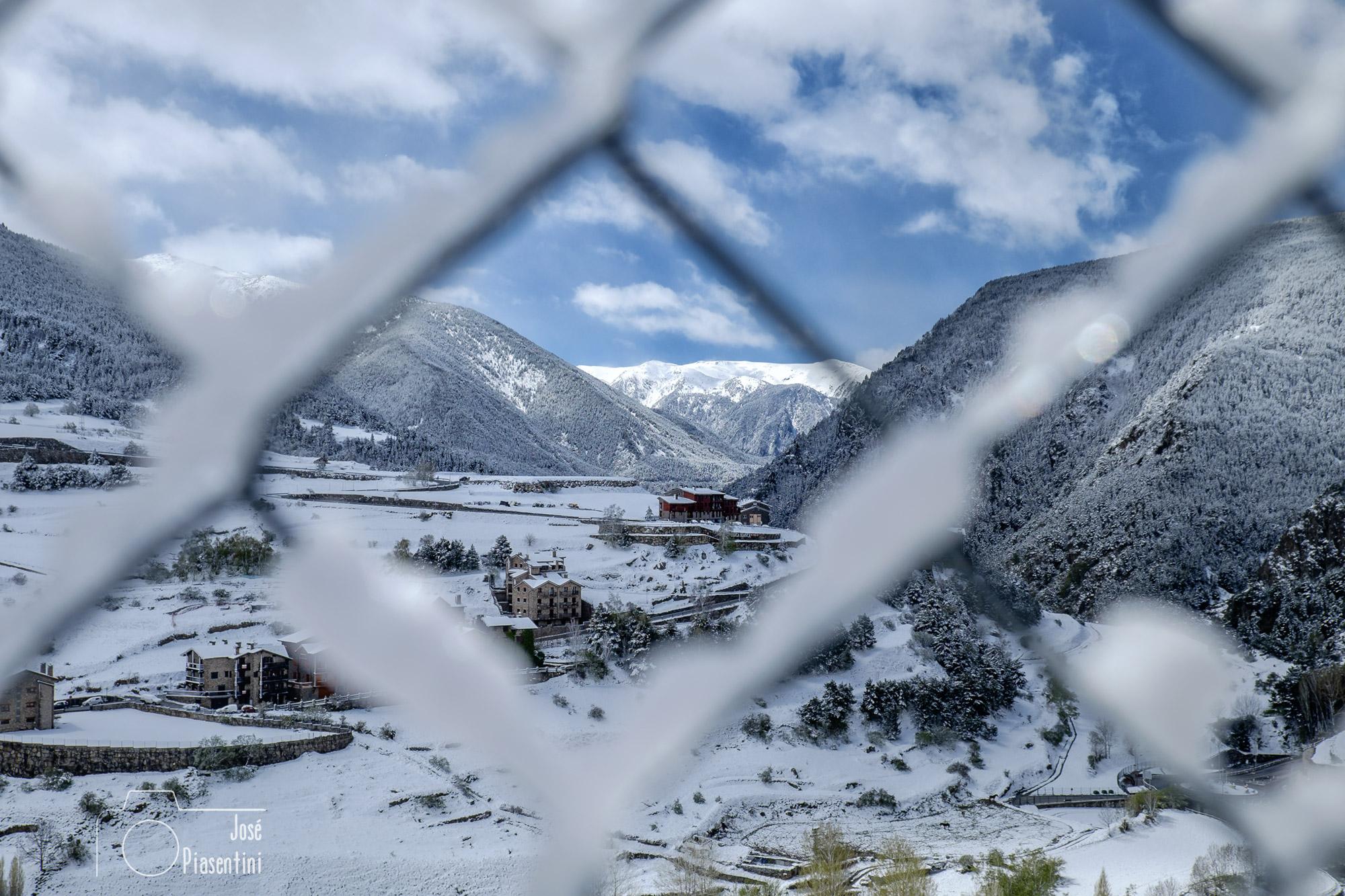 Nevada en Andorra primavera 2018