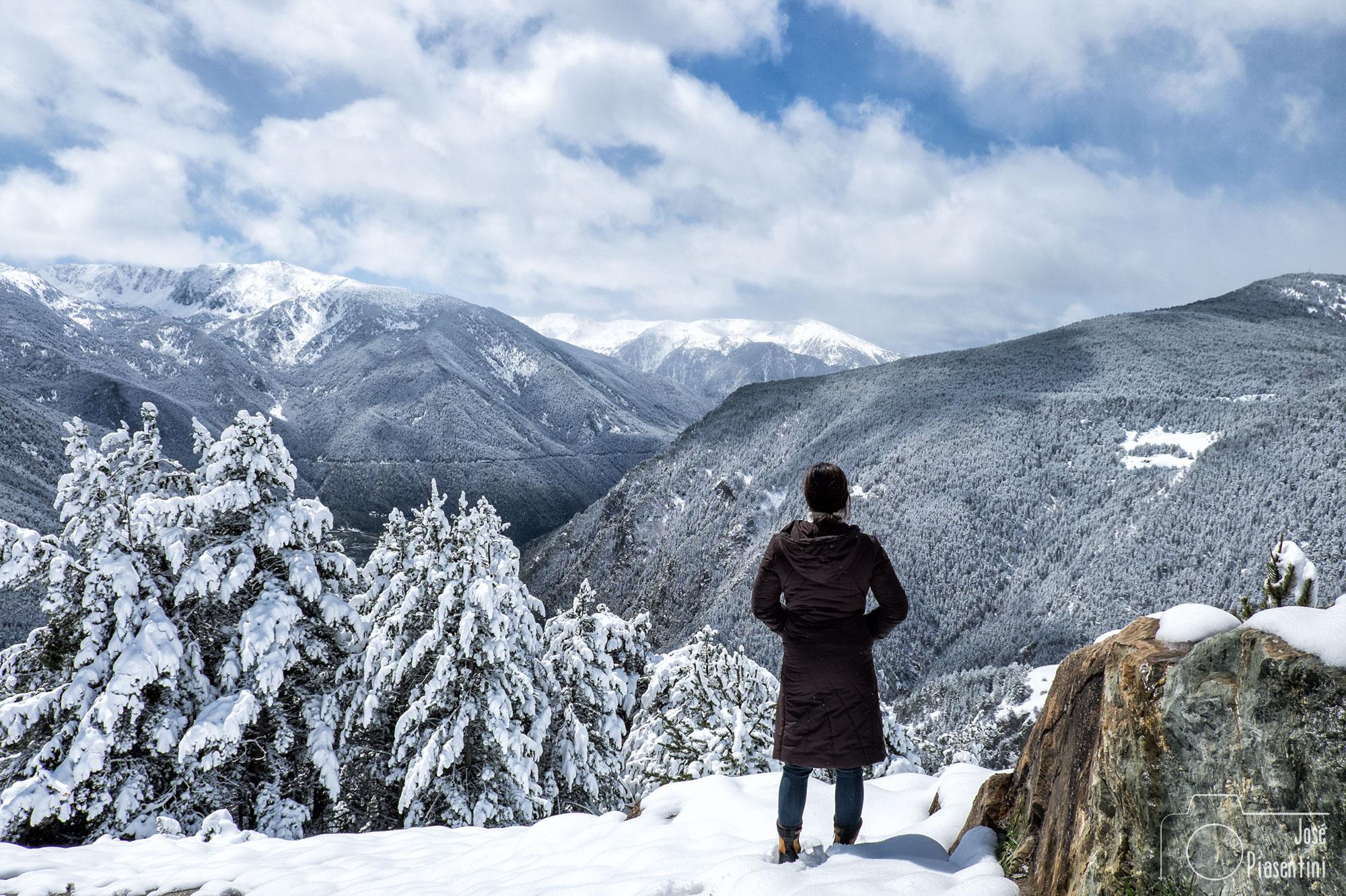 primavera en Andorra roc del quer