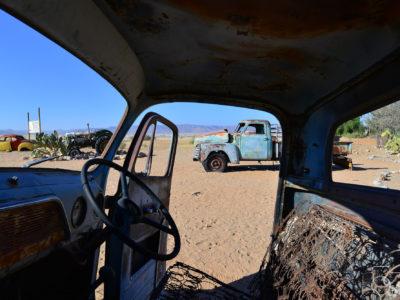 Namibia, una parada en Solitaire